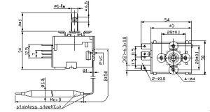 Bimetal Thermostatcapillary Thermostat Liquid Expansion Temperature Controller pictures & photos