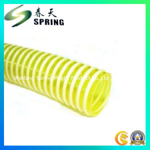 PVC Plastic Reinforced Spiral Heavy Duty Suction Corrugated Hose with Good Quality pictures & photos