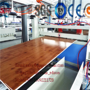 PVC Board Making Machine PVC Crust Foam Board Making Machine PVC Foam Board Production Line PVC Foam Board Machine WPC Foam Board Machine PVC Foam Board Mach pictures & photos