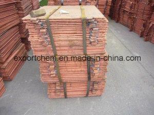 Metal Electrolytic 99.99% Copper Cathodes pictures & photos