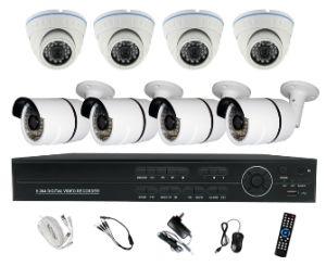 16CH 720p Ahd DVR with 8 Camera DIY Kits