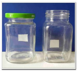 300ml Square Glass Jar pictures & photos