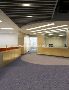 Office Nylon Carpet Tiles with PVC Backing pictures & photos