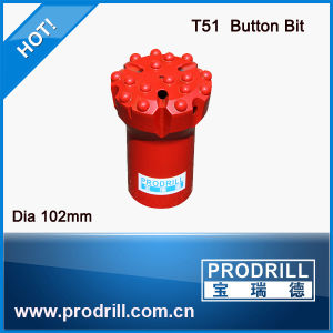High Quality Hollow Button Bits T51-102mm pictures & photos