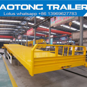 Directly Factory Skeleton 40FT Container Semi Trailer with Twist Locks pictures & photos