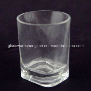 Clear Glass Tumbler Cup with Quadrilateral Bottom (CLKB-02) pictures & photos