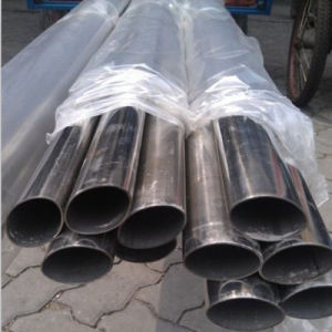 Stainless Oval Steel Pipe for Making Furniture and Chair pictures & photos