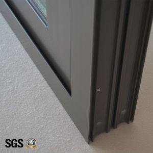 High Quality Double Glass Aluminum Sliding Window K01080 pictures & photos