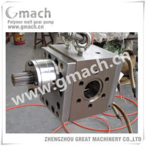 High Pressure PP Pipe Extrusion Hot Melt Gear Pump pictures & photos