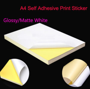 A4 Adhesive Label Sticker pictures & photos