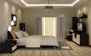 Fancy Bedroom Wardrobe Set/Wholesale Hotel Bedroom Furniture (zy-060) pictures & photos