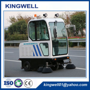 High Quality China Street Sweeper Road Sweeper (KW-1900F) pictures & photos