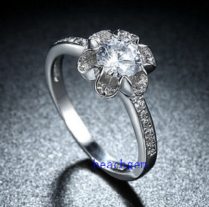 Hot Sell Jewelry- Cubic Zirconia Brass Rings (R0840) pictures & photos
