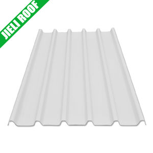 Corrugated White Plastic Roof Sheet Trapezoidal 940 pictures & photos