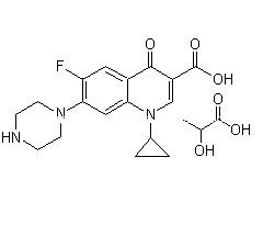 Ciprofloxacin Lactate Chemical Reagents CAS 97867-33-9 pictures & photos