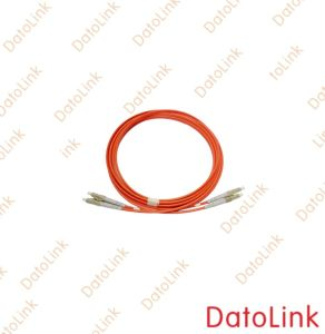 LC Mm 2fibers Opticl Fiber Patchcord/Patch Cord pictures & photos