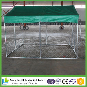 10X10X6ft Hot Dipped Galvanized Chain Link Dog Kennels
