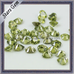 Heart Pendant Bead, Colored Gemstone, Heart CZ Stone pictures & photos