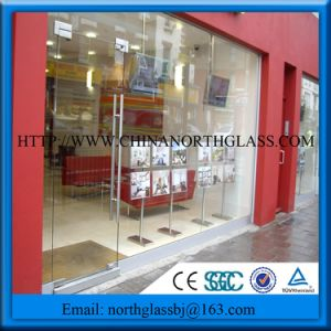 Best Price Glass Panel Shopfront Safety Glass pictures & photos
