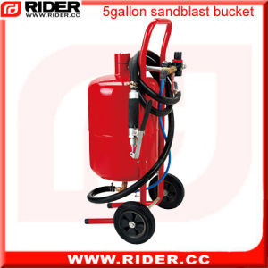 5 Gallon Portable Removable Sandblaster pictures & photos