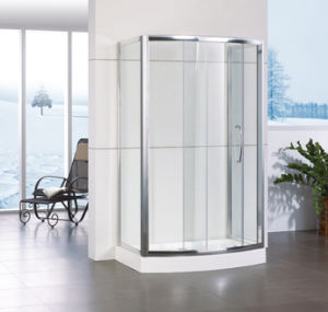 Aluminum Frame Sliding Shower Box Hf-Qabf812