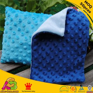 Color Blocking Minky Smooth with Minky DOT Baby Pillow Case