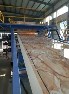 Hot Saled Plastic Marble Sheet Extuder Machine pictures & photos