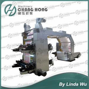 4 Color Shopping Bag Printing Machine (CH884) pictures & photos