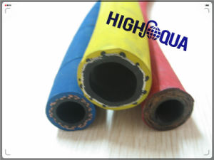 Steel Wire Braid or Fiber Braid Colorful Hydraulic Rubber Hose pictures & photos