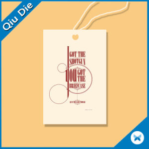 Clothing Hang Tag / Garment Tag / Swing Tag pictures & photos