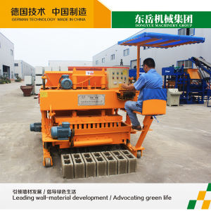 Moving Brick Making Machine Price List Qtm6-25 Dongyue Machinery Group pictures & photos