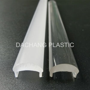 Thick Clear Plastic Lens for Aluminum LED Profile 60 Degree pictures & photos