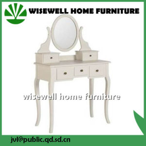 Wood Dressing Table with Stool Without Mirror (W-LZ-509) pictures & photos