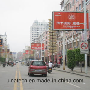 Outdoor Street Road Indoor Advertising Acrylic Box Aluminum Construction Trianglar Billboard pictures & photos