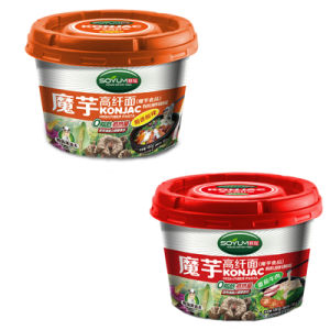 Diet Food Shirataki Cup Noodle with Seasoning pictures & photos
