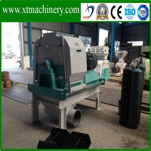 Rice Husk, Coconut Fiber, Oil Palm Hammer Mill with Cyclone pictures & photos