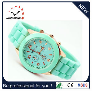 Promotion Gift Silicone Vogue Watch for Ladies (DC-1025) pictures & photos
