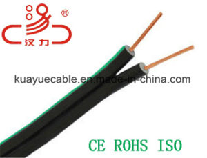 Communication Cable Drop Wire 2c Messenger Telephone Cable pictures & photos