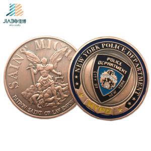 Custom Zinc Alloy Casting Antique Bronze Metal Police 3D Challenge Coin pictures & photos