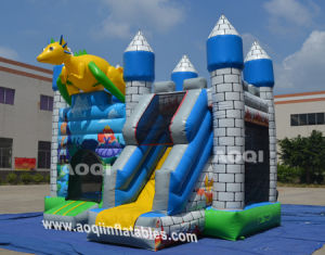 Inflatable Dragon Combo Castle Bounce (AQ01337-2) pictures & photos