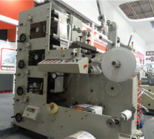 Rtry-420d 4 Color Flexographic Printer Label Paper Printing Machine pictures & photos