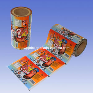 Cartoon Cola Candy Automatic Filling Packaging Film