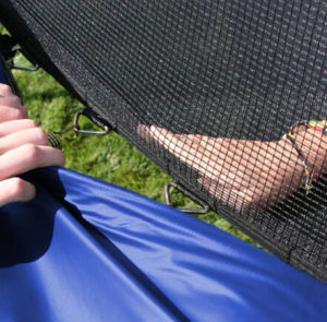 Jumping Bed (trampoline) with 6 Legs pictures & photos