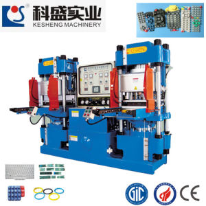 Vacuum Hydraulic Press Rubber Machine for Rubber Silicone Products (KS200VR) pictures & photos