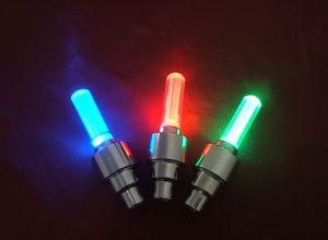 Bicycle Wheel Light, Tire Valve Cap Spoke Neon LED Lights pictures & photos