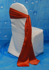 Hot Sale Satin Sash Ribbon for Chair Cover pictures & photos