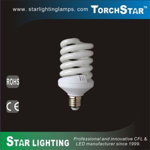 1950lm 30W 10mm Full Spiral PBT Tube Tri-Phosphor Energy Saving CFL Light pictures & photos