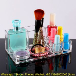 Multifunctional Dressing Table Jewelry Cosmetics Makeup Box pictures & photos