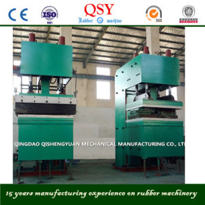Rubber Curing Press Machine for Corrugated Sidewall Conveyor Belt pictures & photos