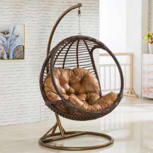 2017 New Hanging Chair &Swing Rattan Furniture, Rattan Basket (D005) pictures & photos